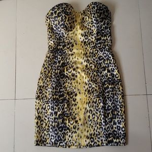 GUESS Los Angeles Strapless Dress